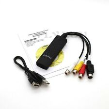 EasyCap 1 Channel Usb 2.0 Video Capture Card DC60+ DVD TV VHS Audio Adapter