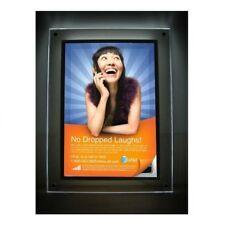 21x28 Led Light Box Poster Holder - Bright, Wall Mounted, Retail Picture Display