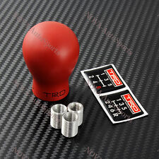 TRD Duracon Red Manual Racing Shift Knob For Toyota FRS AE86 Supra MR2 MRS tC