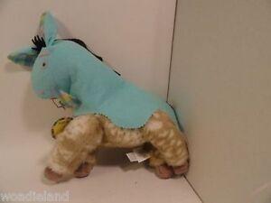 Muffie's Horse Oatsie Happy Birthday & Centipede Halloween Costume Plush