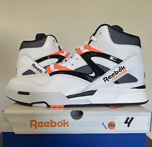 Reebok Pump Omni Zone II 2 Dee Brown White Orange Black Size 11 G57540 IN HAND