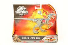 "New Listing""New"" Jurassic World Battle Damage Velociraptor Blue Dinosaur Toy Action Figure"