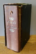 "1930 copy of ""Fables De La Fontaine"" French edition Hardcover book"