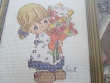 """precious moments's cross stitch chart"