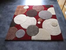 ORIENTEX, 4FT. SQUARE,  BRAND NEW, THICK,  PURE WOOL RUG...FREE DELIVERY.