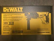 "DEWALT DCH133B 20V Max XR Brushless 1"" D-Handle Rotary Hammer Drill"