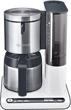 Bosch TKA8651 Thermo-Kaffeeautomat  Styline, Edelstahl/weiss 1100 Watt