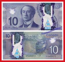 CANADA 10 Dolares dollars 2013 Polymer Pick 107c SC /  UNC