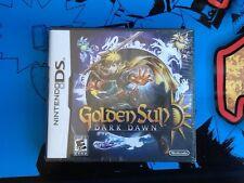 Golden Sun Dark Dawn Nintendo DS SEALED Brand New