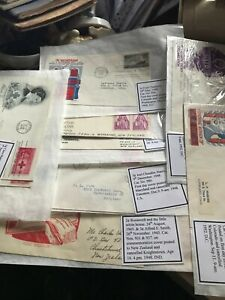 American first day covers 1940-50