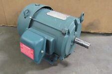 RELIANCE P18K811D0F 3HP AC ELECTRIC MOTOR 230/460V 3PH 1740RPM 182T