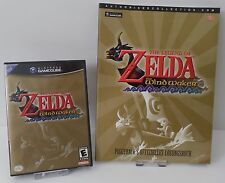Nintendo GameCube GC The Legend of Zelda the Windwaker US Version + Lösungsbuch