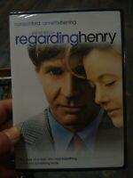 REGARDING HENRY (NEW/SEALED DVD, 2003) Harrison Ford, Annette Bening.