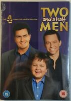 Two and a half Men The Complete Fourth Season DVD Box Set New Sealed