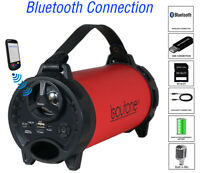 Boytone BT-40RD Portable Bluetooth Speaker Indoor/Outdoor, FM Radio, USB Port