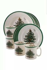 Spode Christmas Tree 12-Piece Dinnerware Set, Service for 4 MSRP $420