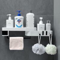 Corner Shower Shelf Bathroom Shampoo Holder Kitchen Storage Rack Organizer 3C