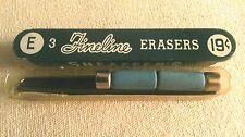 Sheaffer 2-E3(28mm) or 2-U3(24mm) erasers plus 10 leads refills for fineline