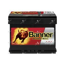 Batterie voiture Banner Power Bull P6219 12v 62ah 550A 241x175x190mm