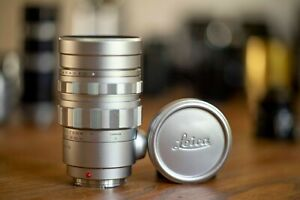 Leica Leitz Summicron 90mm f/2 Silver caps