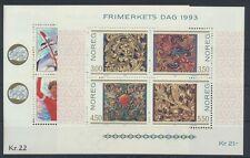 Norwegen Jahrgang 1993 postfrisch in den Hauptnummern kompl.....................
