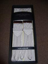 ALBERT THURSTON Blanc moiré bretelles taille unique or couleur Accessoires