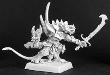 Audt Reptus Sgt Reaper Miniatures Warlord Warrior Fighter Lizardman Dragonman