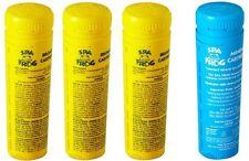 Spa Frog Kit 4 pack 3 Bromine & 1 Mineral Cartridge