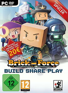 Brick-Force Season 4  Die nächste Generation PC DVD Rom Box Game Spiel Dt Ware N