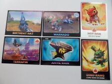 Topps Skylanders Giants ~ Spyro's Adventures ~ Lot of 6 Trading Cards Good Gift
