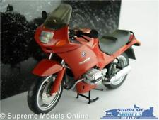BMW R 1100 RS MOTORBIKE MODEL 1:24 SCALE MINICHAMPS CYC RS1106 DEEP RED BIKE K8