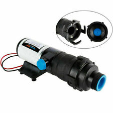 Dc 12v 12gpm Self Priming Macerator Waste Water Pump For Boat Rv Marine