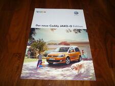VW Caddy JAKO-O EDITION Prospekt 05/2013