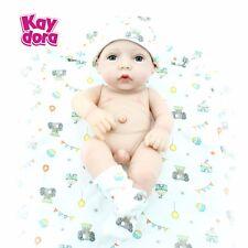 Realistic Real Looking Newborn Baby Vinyl 100%Silicone Birthday Reborn Dolls Boy