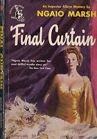 FINAL CURTAIN by Ngaio Marsh (1948) Pocket Book mystery pb
