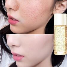 Women 10ml 24k Gold Silk Collagen Skin Care Anti-Aging Face Essence Serum Cream
