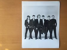 RARE VINTAGE AMERICAN ROCK STAR: 2 Michael Hutchence and INXS Publicity Photo