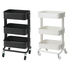 3 Tier kitchen trolley rack holder / Bar cart / Storage shelf organiser / Ikea