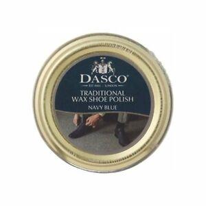 Dasco Traditional Wax Shoe Polish Navy Blue 50ml