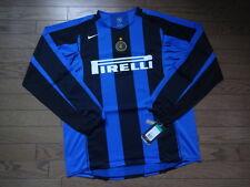 Inter Milan 100% Original Jersey Shirt 2004/05 Home LS XL Still BNWT NEW Rare