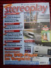 Stereoplay 4/97, Beveridge electrostat, MBL 101 D, Sony CDP xa 50 lo, aura ca/pa 200