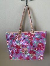 Dooney Bourke XL Floral Garden Rose Leisure Shopper Tote Bag