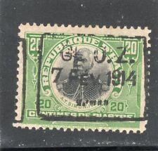 Haiti Scott # 198  - MHH -  F-VF - Type 2 ovpt.