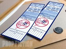 Die Hard 3: With a Vengeance - Pair of Prop '94 Yankee Stadium Field Box Tickets