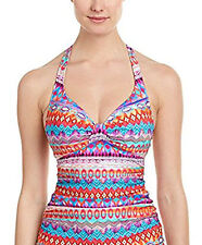 NWT GOTTEX PROFILE Santa Fe HALTER 2pc Tankini skirted BIKINI Bathing SUIT 8
