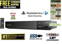 Sony BDP-S1500 Blu-ray Disc Player Wired Netflix Internet Apps 1080p Dolby HD