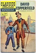 david copperfield no silver age classics illustrated comics  classics illustrated 48 hrn 169 f david copperfield stiff cover