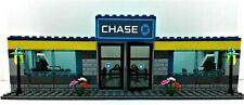 Lego Custom MOC City CHASE BANK / ATM / Drive True. ASSEMBLED!