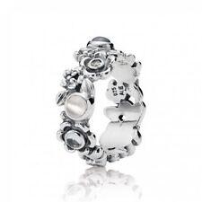 NEW!Authentic Pandora Nature's Serenity Topaz Moonstone Ring #190121BTP-56 (7.5)