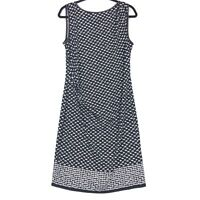 Max Studio size Large dress sleeveless gathered waist L NEW
